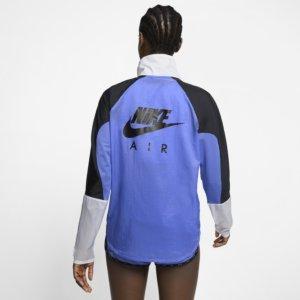 Nike Air løpejakke med hel glidelås til dame - Blue S