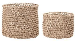 Bloomingville Basket, Nature, Paper