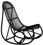 Sika Design Nanny gyngestol - Matt svart