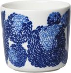 Marimekko-Oiva/Mynsteri Kaffekopp 20 cl, Hvit/Blå