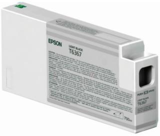Epson T6367 Blekkpatron lys svart, 700 ml T6367 Tilsvarer: N/A Epson