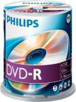 Philips DM4S6B00F - 100 x DVD-R - 4.7 GB (120 min) 16x - spindel (DM4S6B00F/00)