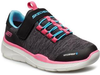 Skechers Girls Equalizer 3.0 Sneakers Sko Svart Skechers