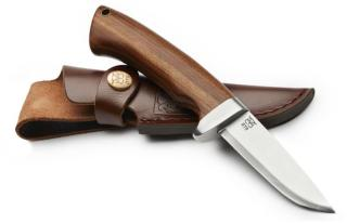 ØYO Dovre Knife with Leather Sheath, Steel, OneSize
