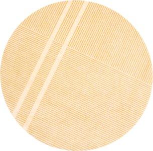 Løype Sunny Yellow dørmatte Ø150 cm Heymat