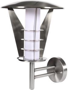 Konstsmide Utelampe Vegg Livorno Stål 33cm 11w E27 IP44 Konstmide 88988 Taklampe / Vegglampe