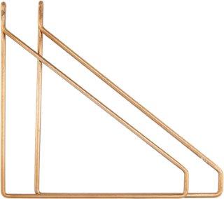 House Doctor Apart Konsol 2-pakk Messingbelagt 25,5x26 cm