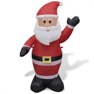 vidaXL Oppblåsbar julenisse 120 cm