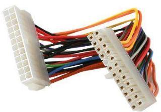 StarTech 8in 24 Pin ATX 2.01 Power Extension Cable - Power extension cable - 24 pin ATX (M) to 24 pin ATX (F) - 7.9 in - ATX24POWEXT - strømforlengelseskabel - 20 cm (ATX24POWEXT)
