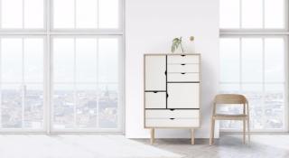 Andersen Furniture S5 Såpet Eik / Hvit