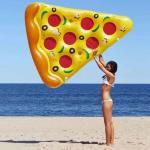 MikaMax Oppblåsbar pizza - Baderomsartikler