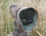 Kamera- og linseskjuler, L36cm (C80.2R-C) Alt-i-ett kamoduk, reversibel