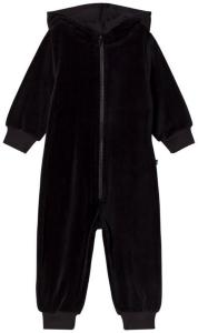 The BRAND Velour Onesie Svart