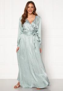 DRY LAKE Sharon Long Dress 330 Mint Green Zig Z S