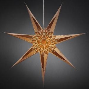 Konstsmide Papirstjerne - Gull