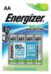 Energizer Eco Advanced AA/LR6 (4) E300130700 (Kan sendes i brev)