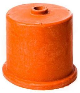 Gummihette. 50mm, 9mm hull