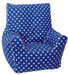 knorr® toys Junior-Beanbag blå - Blå