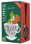 Clipper Grøn Te m. Jordbær Ø - 20 Pose