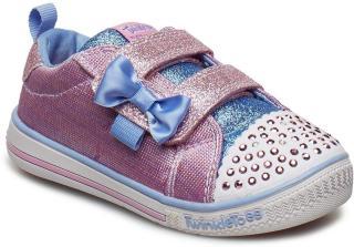 Skechers Girls Twinkle Play Sneakers Sko Lilla Skechers