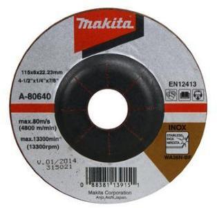 Slipeskive Makita 115x6 mm
