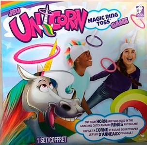 Unicorn Magic Ring Toss Brettspill