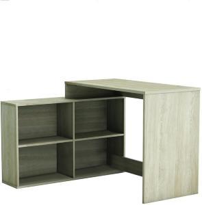 Corner Skrivebord 112 cm - Eik