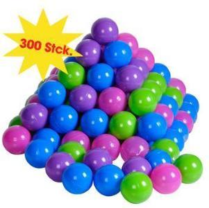 knorr® leketøy ballsett 300 stk, myk farge
