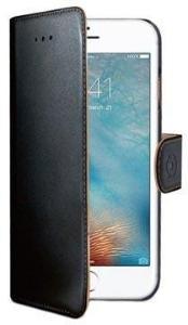 iPhone 7 Plus / iPhone 8 Plus Celly Wally Lommebok-deksel - Svart