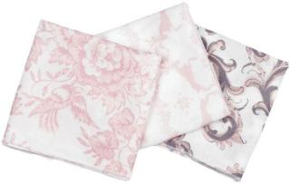 Lilleba vaskeklut jente rosa