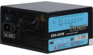 Inter-Tech Energon EPS-650W Strømforsyning (PSU) - 650 Watt - 120 mm - 80 Plus 88882022
