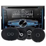JVC KW-R520 & GAS Silver-høyttaler