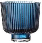 Bloomingville Lykt Blue Glass Ø9x8,5 cm