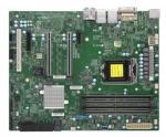 Supermicro X11SCA, Intel, LGA 1151 (kontakt H4), Intel® Celeron®, Intel® CoreT i3, Intel Core i5, Intel Core i7, Intel Core i9, Intel®..., 95 W, DDR4