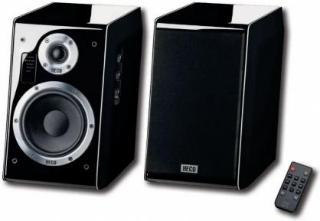 Heco Ascada 2.0 pianosvarte aktive høyttalere med Bluetooth