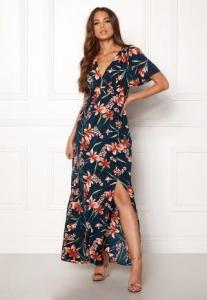 DRY LAKE Jasmin Long Dress Petal Print L
