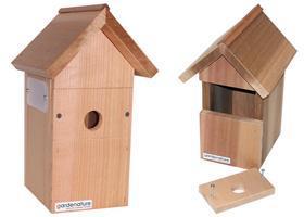 Fuglekasse for kamera Ekstra kasse u/kamera