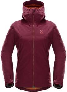 Haglöfs Niva Proof Down Jacket Women, Aubergine, S