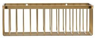 House Doctor Bath Basket Small - Brass (WG0320) Brass  AB73G5