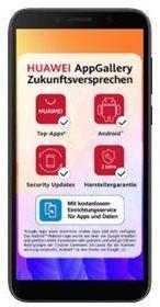 Huawei Y5p - midnatts sort - 4G - 32 GB - GSM - smarttelefon (51095MTV)