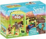 Playmobil Spirit Snips og Señor Carrots med stall 70120