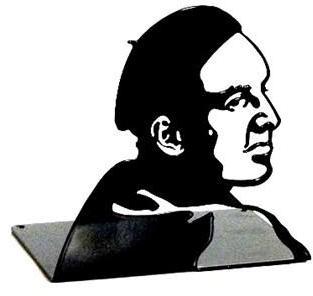 Bokstøtte Ingmar Bergman Inget (Storm)