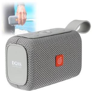 Doss E-go Vanntett Bluetooth-høyttaler - Grå