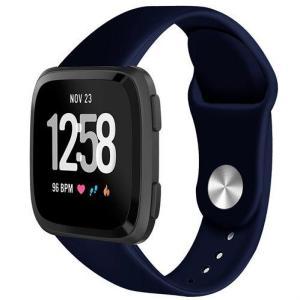 Fitbit Versa armbånd gummi - blå - S