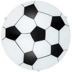 Eglo Junior 1 Barnelampe med fotball, Plafond, Hvit