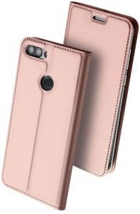 Dux Ducis Skin Pro Series Flip deksel Huawei P Smart (2018) Roségull