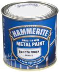 HAMMERITE METALLMALING GLATT HVIT 250ML