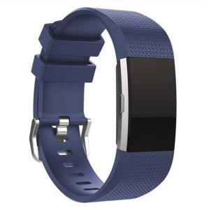 Armbånd for Fitbit Charge 2 - mørk blå - S