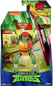Teenage Mutant Ninja Turtles Deluxe Ninja Attack figur - Rafael - 14 cm
