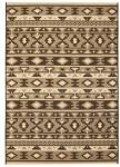 vidaXL Teppe sisal-aktig innendørs/utendørs 80x150 cm etnisk design